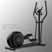 Clear Fit StartHouse SX 42 - Эллиптический эргометр максимальный вес пользователя 130кг