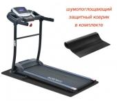 EVO FITNESS Omega - Беговая дорожка электрическая, максимальный вес пользователя 110 кг